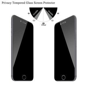 Image 4 - 9H 2.5D gizlilik temperli cam ekran koruyucu için iPhone X XS XR XS max 4 4S 5 5S SE 5C 7 8 artı gizlilik filmi kaliteli