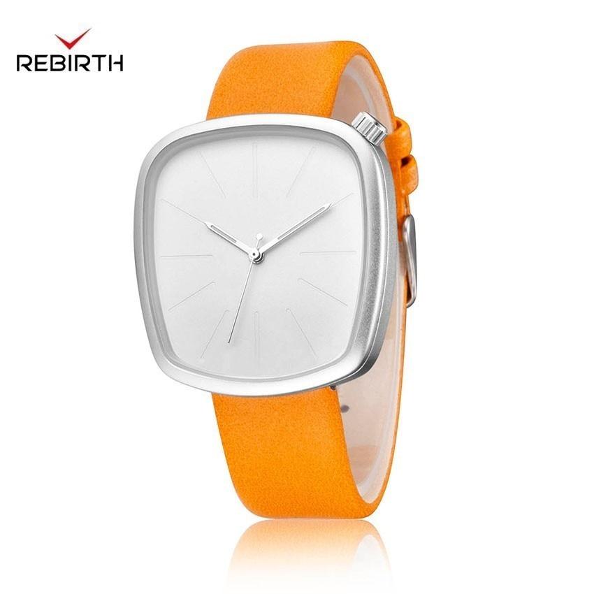 New & Individual Women's Watches Irregular Shape Quartz Wrist Watches For Women Reloj Mujer Brand Luxury Women Leather Watches