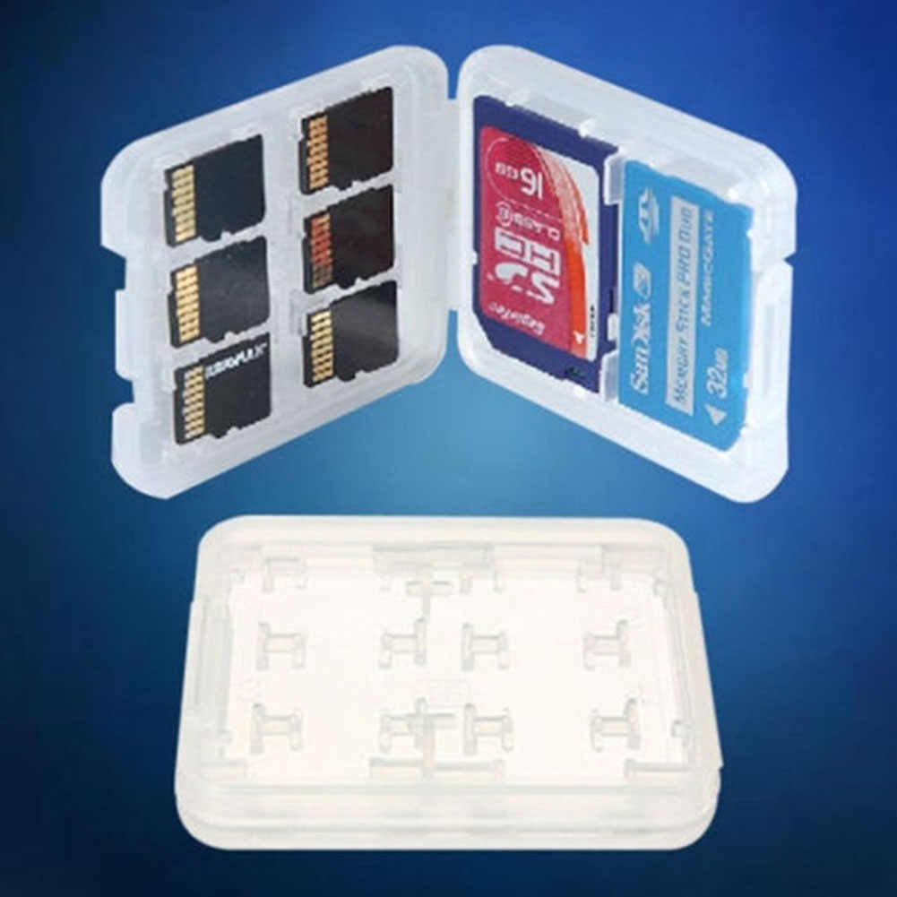 Hard Case Micro  HC TF MS Memory Card Storage Box Protector Holder Hard pc Case Memory Card Storage Boxes  card bag ms box