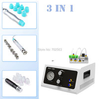 New 3 In1 Hydra Facial Skin Cleansing Dermabrasion Hydro Water Vacuum Peel Microdermabrasion Beauty Machine