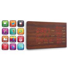 SQ600 Multifunction Bluetooth Speaker Muslim Gift Prayer Clock Display Time Temperature Alarm Audio