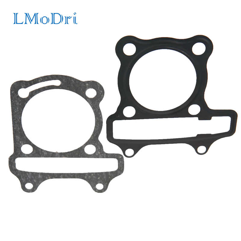 LMoDri Motorcycle Scooter GY6 Cylinder Gasket Set Cushion Pad GY6 50cc 60cc 80cc 90cc 125cc 150cc Engine Moped
