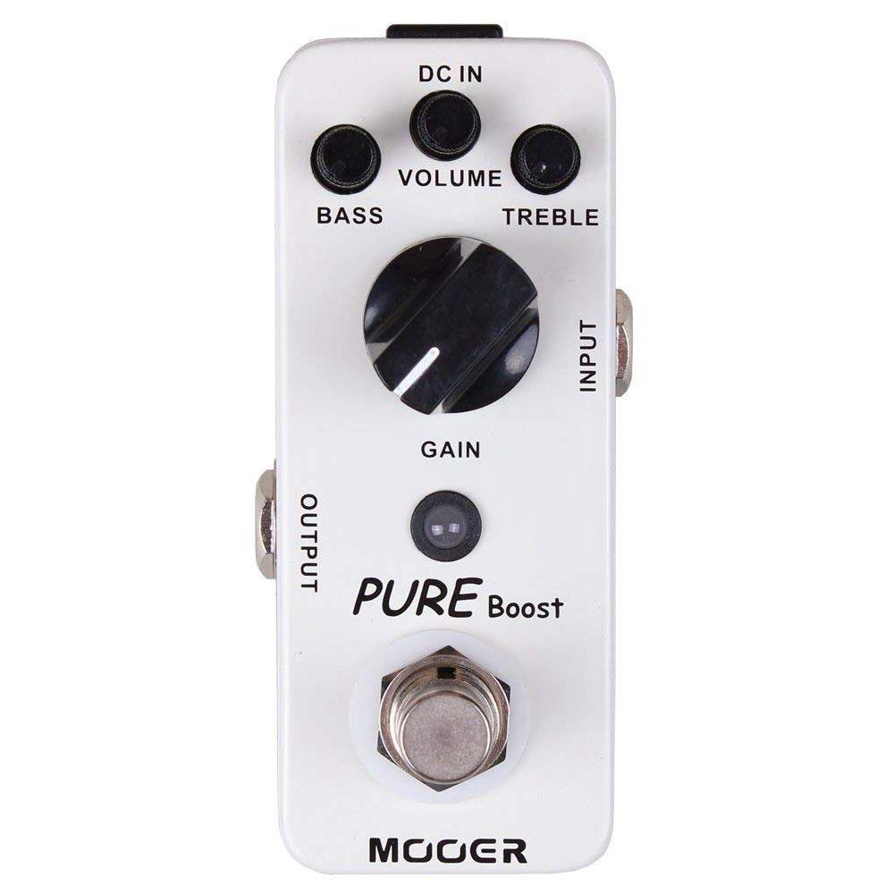 Mooer Pure Boost Mini Boost Effect Pedal for Electric Guitar True BypassMooer Pure Boost Mini Boost Effect Pedal for Electric Guitar True Bypass