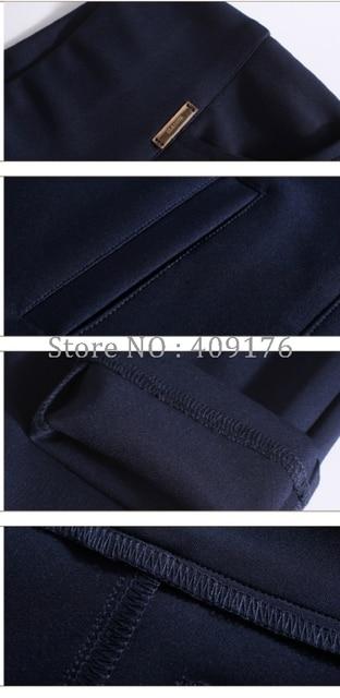 Leggings Pants 6XL Trousers Elastic Waist Pencil Pants Plus Women High Quality Thigh Trimmer Lady High Waist Daily Wear 400g 4