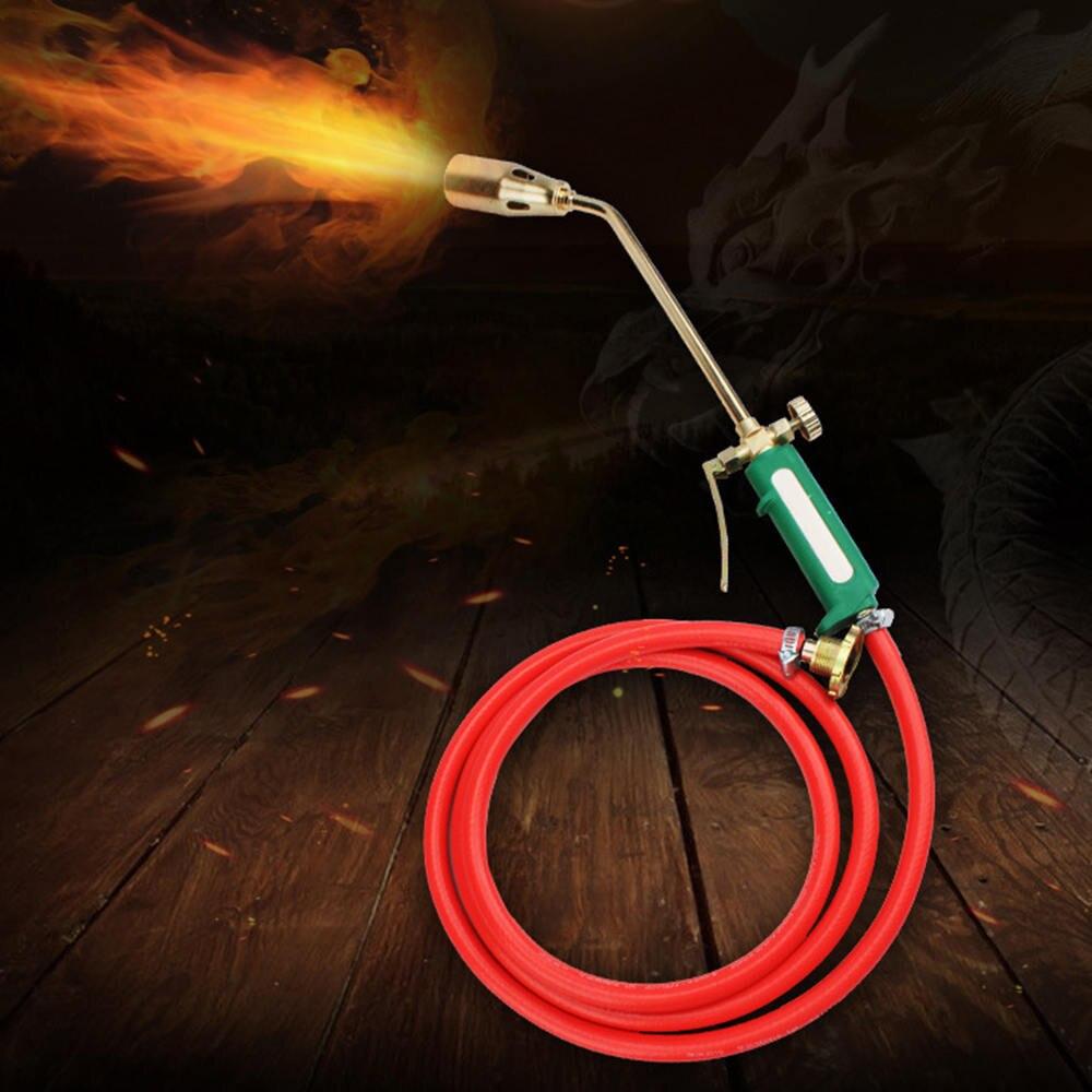 Der GüNstigste Preis Metall Flamme Gas Torch Lötlampe Kochen Selbstentzündungstemperatur Butangas Schweißen-brenner Heizung Schweißen Gasbrenner Flame Feuerzeug Werkzeuge