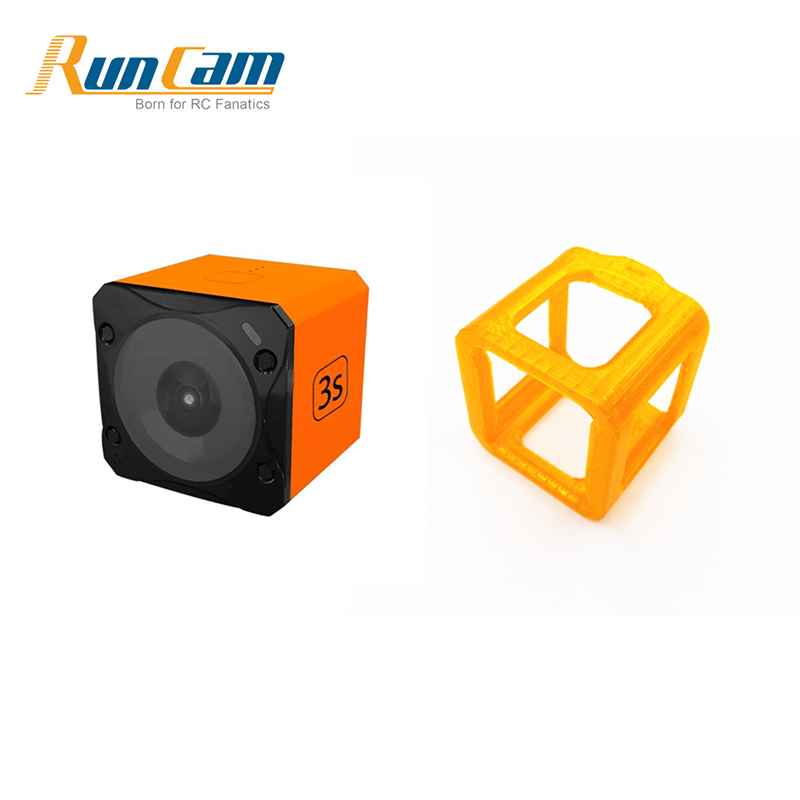 Runcam 3S WIFI 1080p 60fps WDR 160 Degree FPV Action Camera+Protective Case Mount TPU for RC Racing Drone