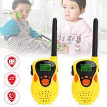 1 Pair 30~50M Handheld Walkie Talkie Two-way Handheld Walkie Talkie Radio For Kids Children Toy Gifts for Children Kids Toy(China)