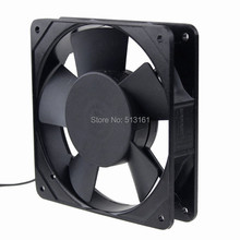 50 pieces Gdstime 110V 120V 12CM 120MM Mental Frame AC Fan 2000RPM 50/60Hz Exhasut Axial Fan kind shooting 8cm fan 109 247 60v 65w drive chassis fan 50 60hz in stock