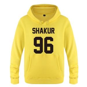 Image 4 - Shakur 96 Tupac 2PAC Rock Rap Hoodies Men 2018 Mens Pullover Fleece Hooded Sweatshirts