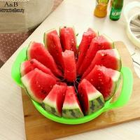 Fruit Watermelon Melon Cantaloupe Stainless Steel Cutter 12 pcs Slicer Multicolor 245.4g 26cm Kitchen Tool
