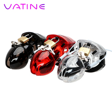 VATINE Dildos Cage Electric Shock Erotic Male Chastity Device Medical Themed Toys Sex