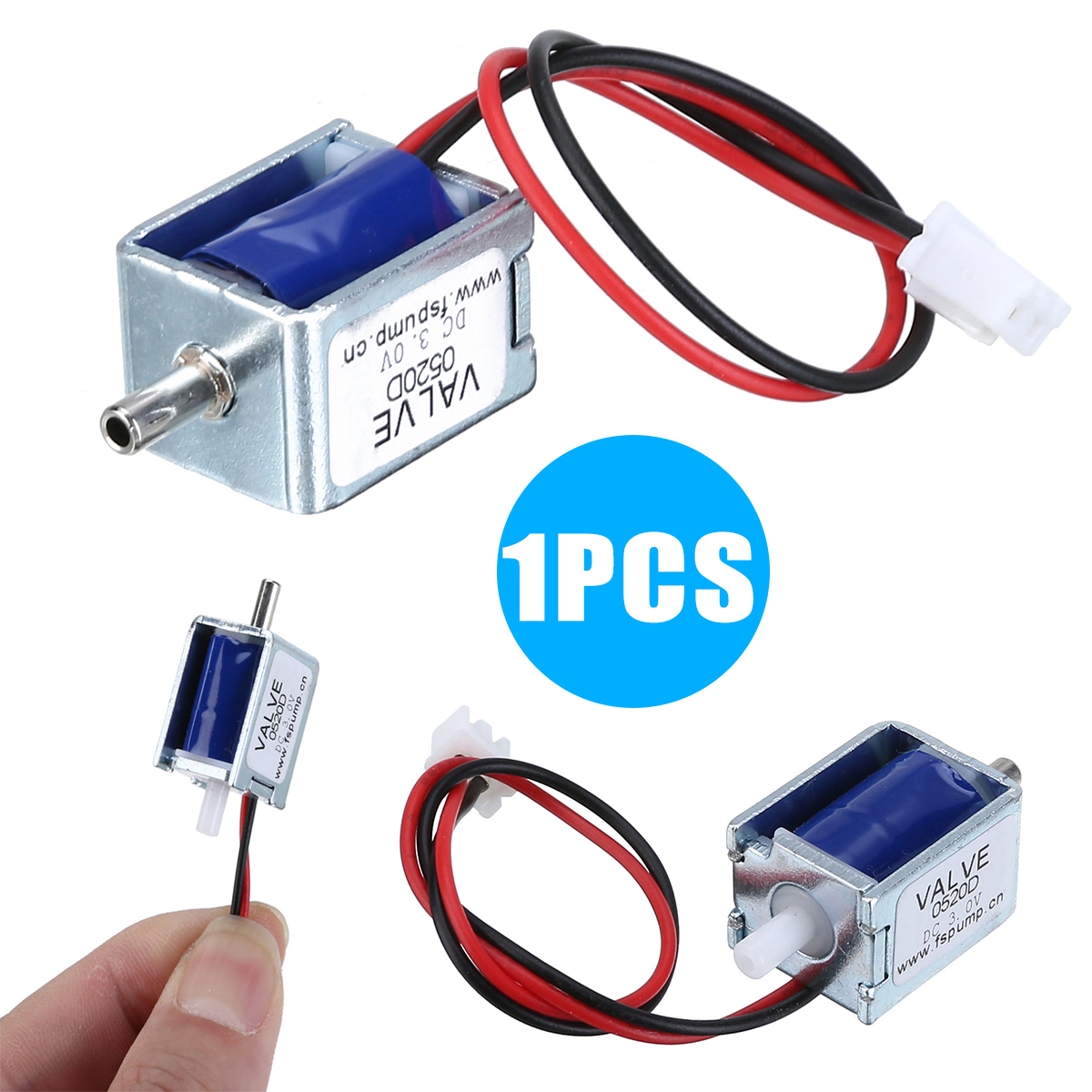 1Pcs DC 3V Mini Electric DC Solenoid Valve N/C Normally Closed For Gas Air Valve For Power Tool Accessories High Quality
