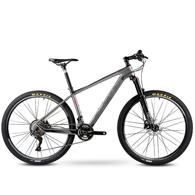 Vtt vélo en Fiber de carbone 26/27. 5 pouces VTT vélo guerrier 22/33 vitesses montagne collines japon M7000 vitesse Variable Superlight