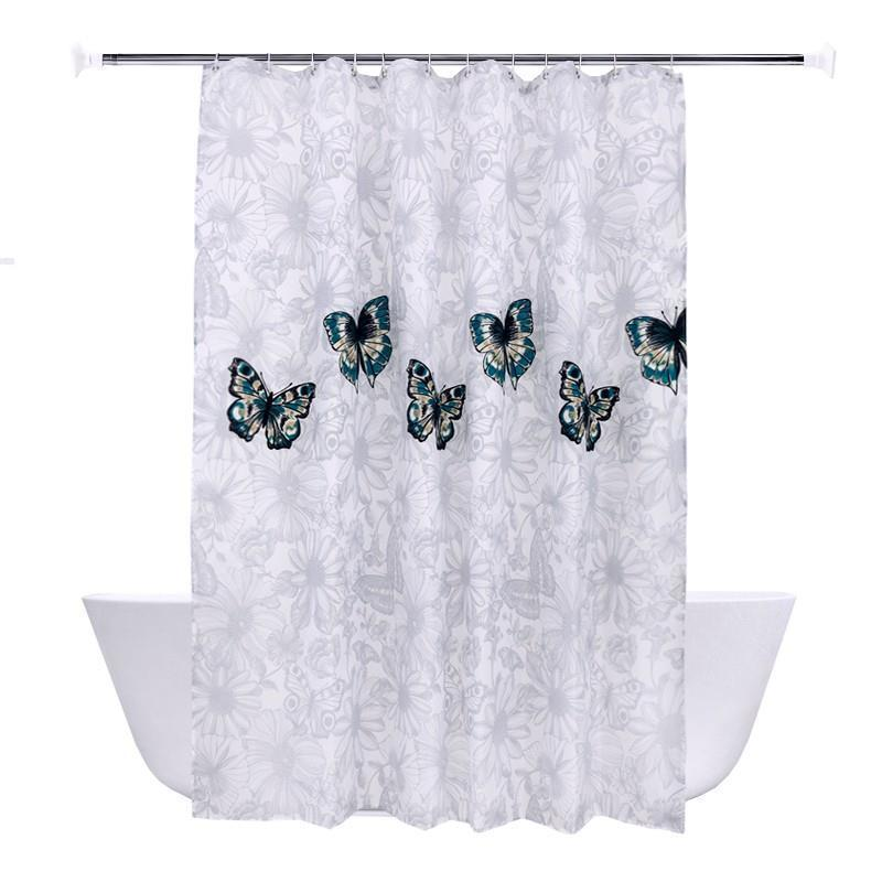 Bathroom Shower Art Nouveau Rideaux Ducha Gordijn Douchegordijn Duschvorhang Cortina Banheiro Rideau De Douche Bath Curtain