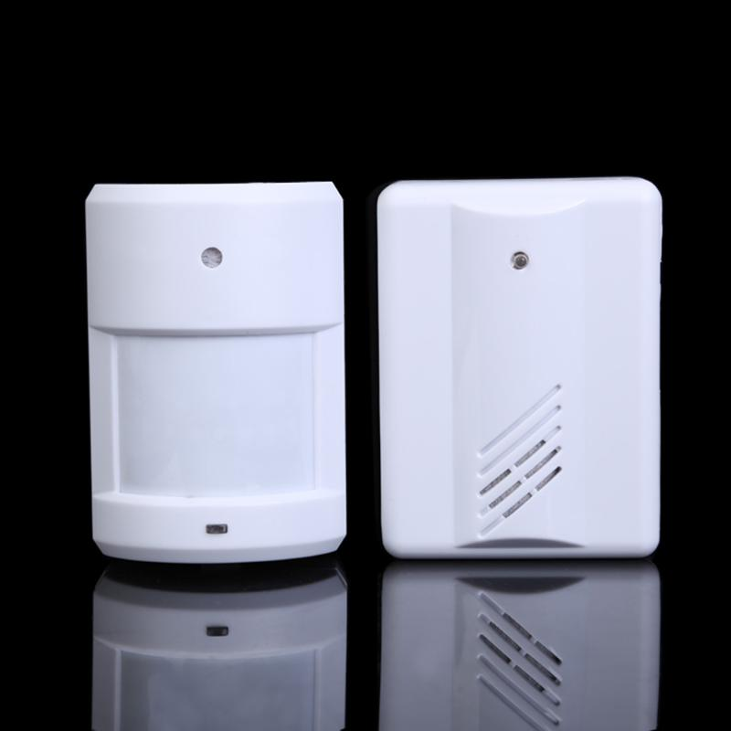 Wireless Infrared Monitor Sensor Detector Entry Door Bell Doorbell AlarmWireless Infrared Monitor Sensor Detector Entry Door Bell Doorbell Alarm
