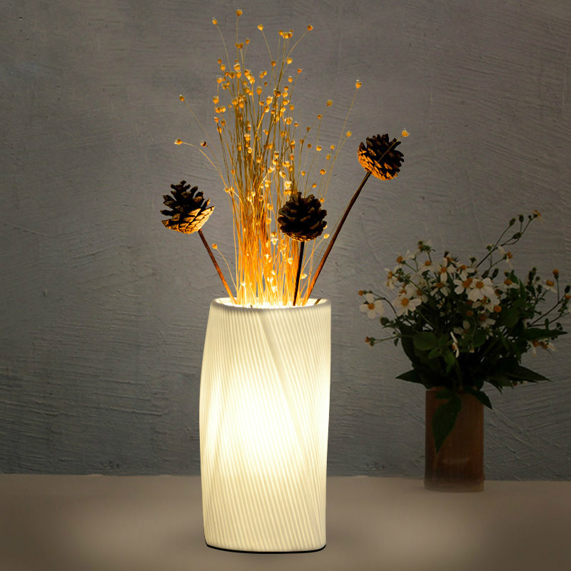 Nordic Simple Under Table Lighting For Weddings Decorate Diy Flower Arrangement Warm And Romantic Bedroom Bedside Light|LED Table Lamps| |  - title=