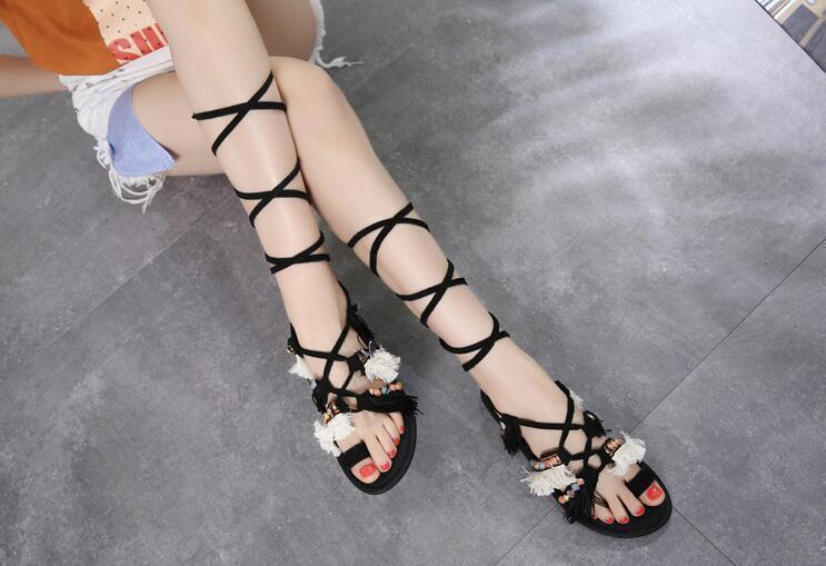 Caliente Cuero Flecos As Sandalias Sexy Mujeres Dedo Encaje Bohemia De Picture Plano Zapatos Gamuza Picture Estilo Moda Verano as Las Vestido TWccOnZAq