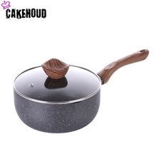 CAKEHOUD 20 ซม. Maifan Stone Non - stick กระทะ Multi - function Kitchen หม้อ Professional Non - stick Pan (China)