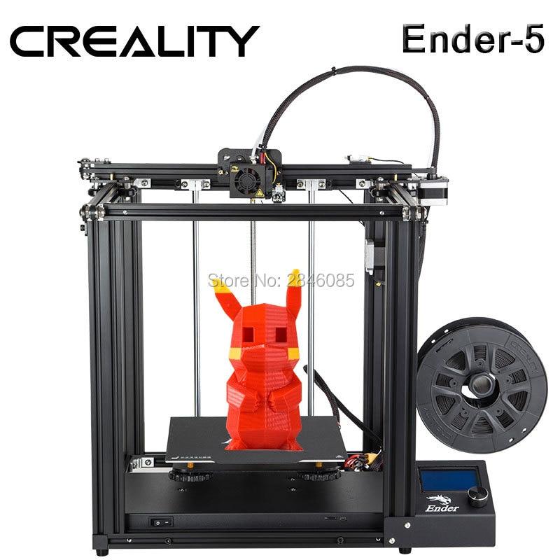 Creality 3d Drucker Creality Ender-5 Mit Landy Stabile Power, Cmagnetic Bauen Platte, Power Off Lebenslauf
