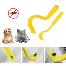 2 шт. инструмент для удаления клещей для домашних животных, кошек, собак, домашних животных, набор инструментов для удаления клещей, инструмент для чистки собак