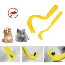 2PCS Pets Tick Removal Tool Cat Dog Pet Tick Remover Set Tool Hook Tool Lice Mascota Garrapata Hook Tool Dogs Cleaning Supplies