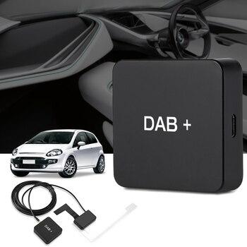 DAB 004 DAB + Box Digital Radio Antenna Tuner FM Transmission
