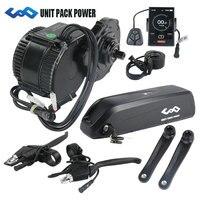 Free shipping 36V 250W BBS01 8Fun /Bafang mid crank drive motor kit with 36V 13AH EBIKE lithium Hailong Battery