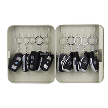 metal key box tool case Storage Bins management cabinet with 32 card Office Hotel facility Property storage item