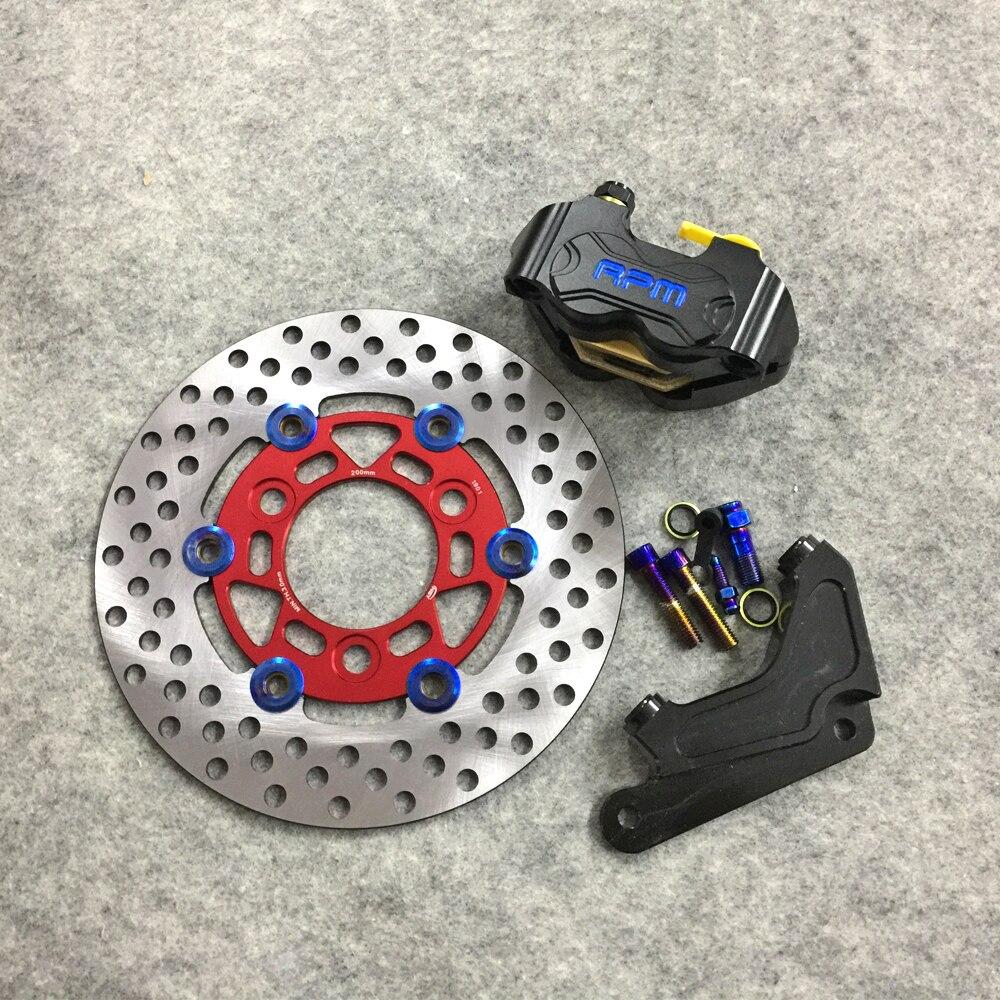 For Honda DIO ZX 50 AF18 AF28 AF25 AF34 AF35 phase modified 200MM brake disc caliper