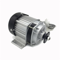 500W 36/48/60V Brushless Electric Bicycle Motor Scooter Brushless E Tricycle Electric Three Wheel Rickshaw Engine DC Motor