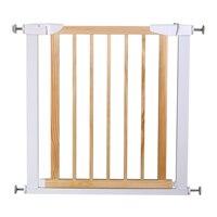 Детские ворота для детей ясельного возраста, забор с автоматическим закрытием из дерева и металла