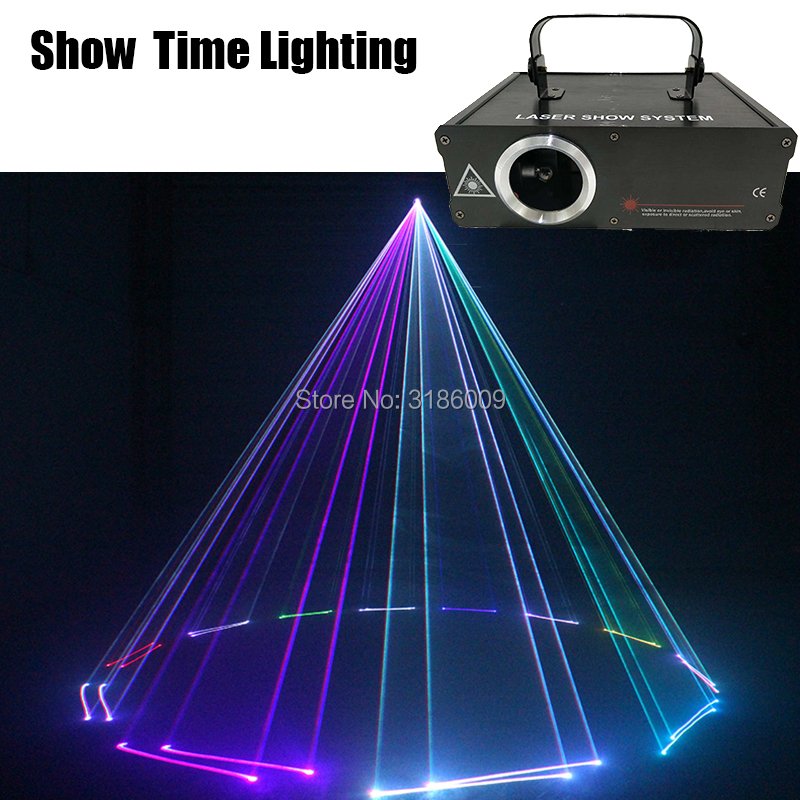 Laser Light Dj Line Scanner Laser 500mw RGB Animal Flower Cartoon Dance Light Home Party DJ Stage Lighting KTV Show Laser