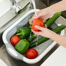 Складная корзина для мытья посуды, кухонная раковина, инструменты для мытье овощей и фруктов