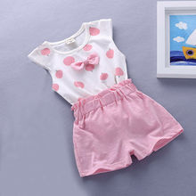 baby girls Summer tank outfits 6m 12m 2T 3T Toddler kids
