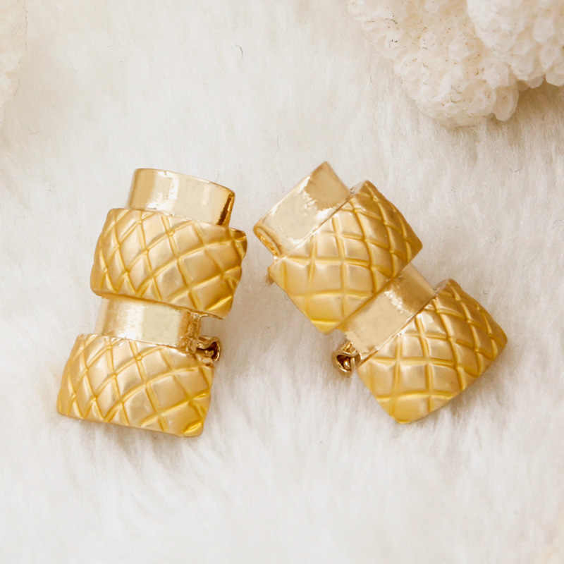 2019 עלה. חנות חדש אירופאי תכשיטי אופנה 18 זהב שרשרת צמיד טבעת עגילי תכשיטי כלה חתונת תכשיטי סטי דובאי