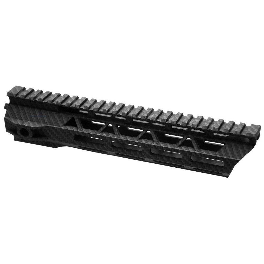 Vector Optics AR15 M4 M-LOK 10 INCH Free Float Polymer Carbon Fiber Slim Picatinny Rail Mount HandguardVector Optics AR15 M4 M-LOK 10 INCH Free Float Polymer Carbon Fiber Slim Picatinny Rail Mount Handguard