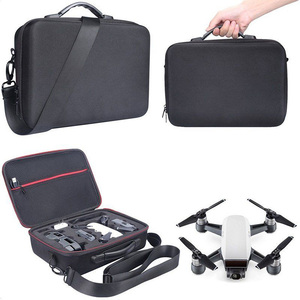 Image 4 - 2018 NEW Portable Drone Case EVA Hard Shell Shoulder Bag Storage Bags Handle Box For DJI Spark Drone Accessories