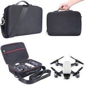 Image 4 - 2018 nueva funda de Dron portátil EVA carcasa dura bolsa de hombro de almacenamiento bolsas caja de mango para DJI Spark Drone Accesorios