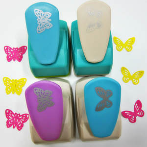 1pc Big Butterfly 5cm Craft Hole Punch Furador Eva Foam Puncher Kids Toys Diy Paper Cutting Machine Scrapbooking Tools Embossing