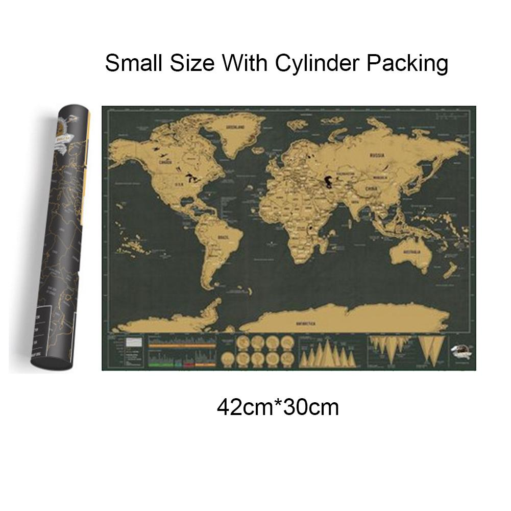 2019 New Deluxe Erase Black World Map Scratch off World Map Personalized Travel Scratch Best Gift for Education School2019 New Deluxe Erase Black World Map Scratch off World Map Personalized Travel Scratch Best Gift for Education School
