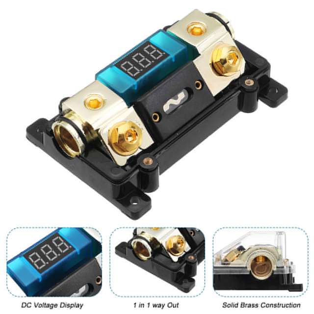Marvelous Best Offers Plastic Car Audio Power Fuse Holder 12V 100A Auto Wiring Database Numdin4X4Andersnl