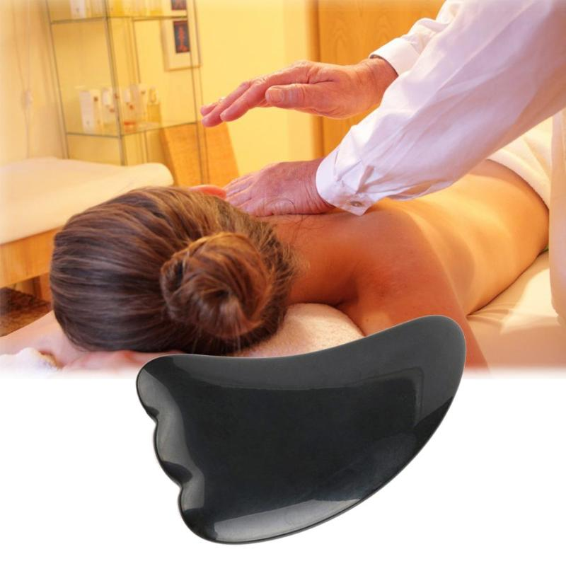 1pc Mini Manual Massager Resin Scraping Massager Tool Body Massager Guasha Board SPA Acupuncture Scraper For Arm Back Leg