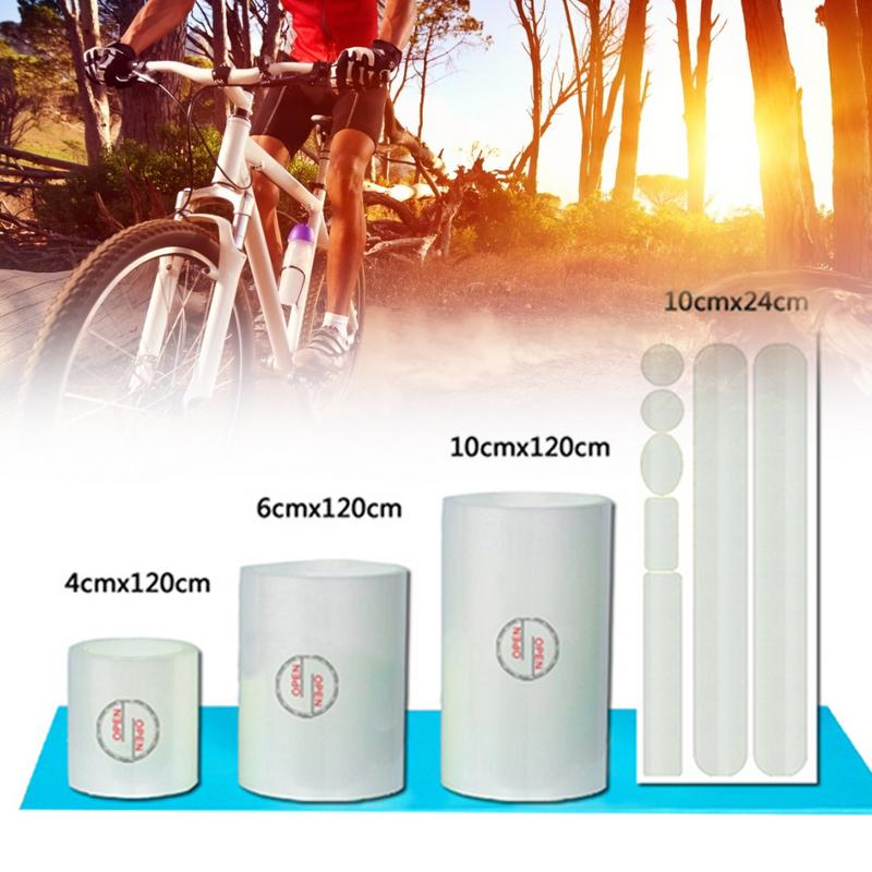 4PCS Bicycle <font><b>Frame</b></font> Protector Sticker MTB <font><b>Bike</b></font> Sticker Protective Film Anti-scratch Sticker Cover Cycling <font><b>Frame</b></font> <font><b>Decal</b></font> Tape image