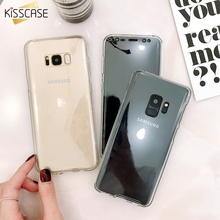 KISSCASE Luxury Case For Samsung Galaxy Note 9 8 S8 S9 S6 S7 360 Full Protective A3 A5 A7 J5 2016 2017