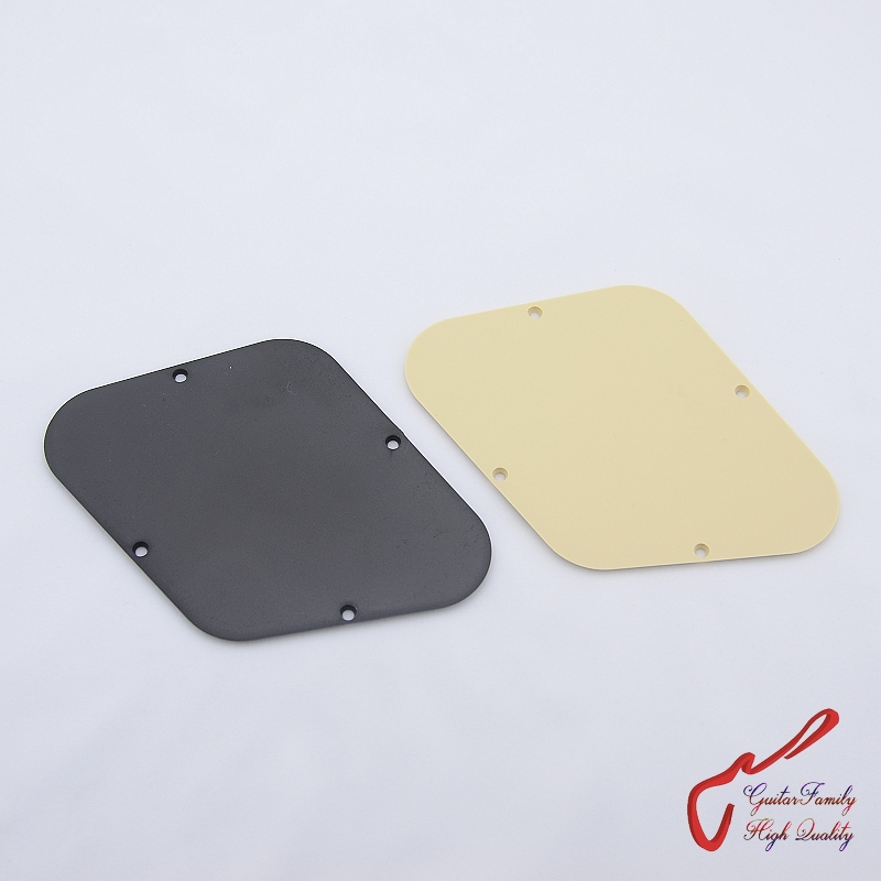 1 Pieces Guitar Control Cavity Back Cover Plastic Plate For Lp Style Electric Guitar ( 0549# ) MADE IN KOREA