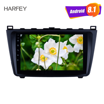 Harfey Android 8.1 Car Radio 2DIN 9 inch bluetooth For Mazda 6 Rui wing 2008-2014 Multimedia Player GPS Navigation Head Unit image