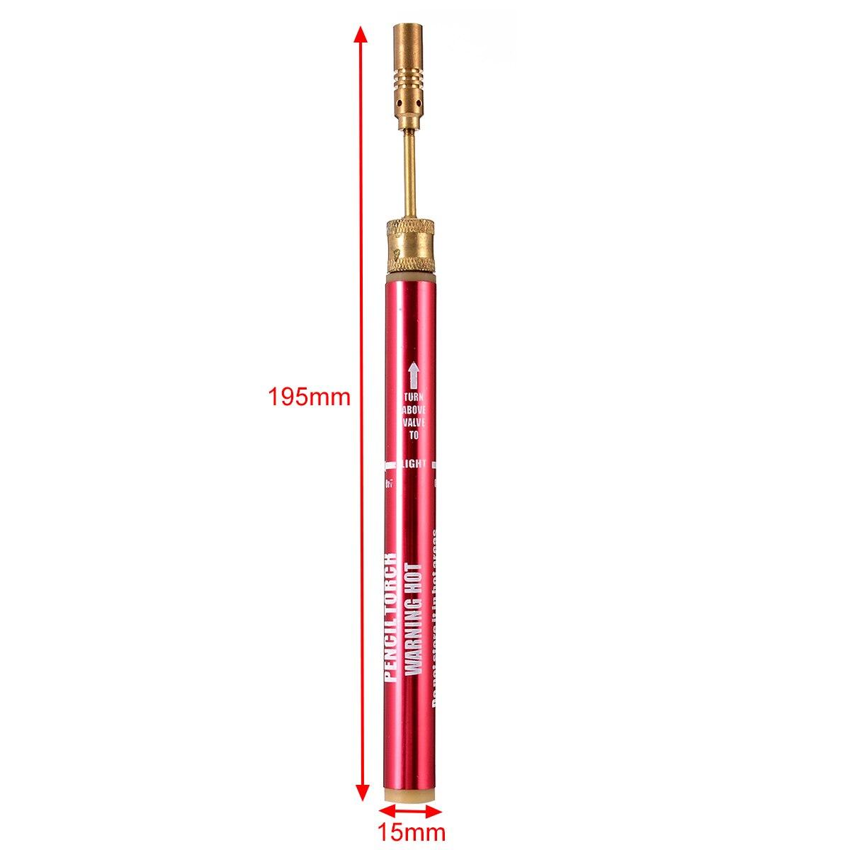 Mini Soldering Welding Iron Cordless Pen Burner Welding Torch Gun Pen Gas Blow Tool For Welding PVC Pipe Bending Tool