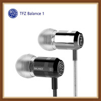 TFZ BALANCE 1 Balanced 9MM Dual Magnetic Circuit Dynamic Wired Earphone Noise Isolating Hifi Music 3.5mm Earphone Mobile Phone