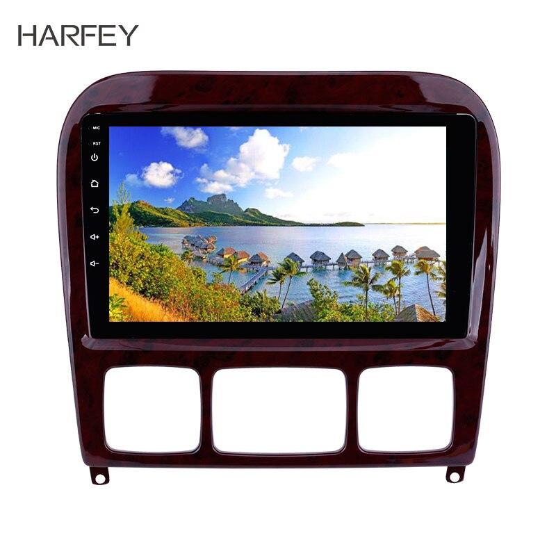 Harfey 9 pouces OEM Android 8.1 Radio GPS système de Navigation pour Mercedes Benz S classe W220 S280 S320 S350 S400 S430 S500 1998-2005
