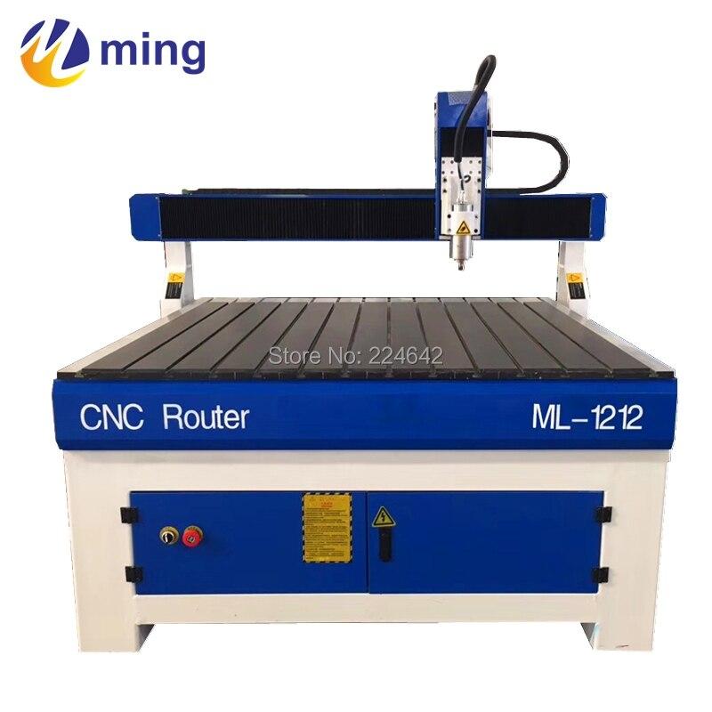 1200*1200mm * 150mm commerce Assurance 1212 CNC découpeuse de bois